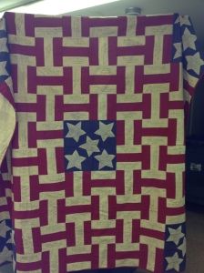 1860's Civil War Quilt made in Hopkinton, MA