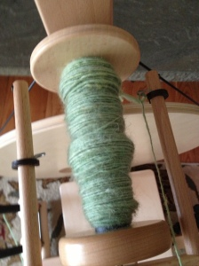 the last of my fiber to be spun until the end of next week