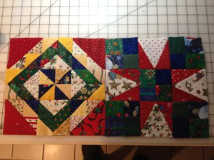 2 completed blocks - I just love them!