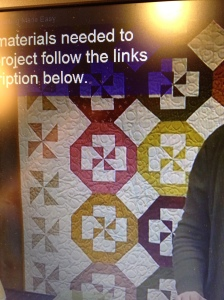 quilt in the video
