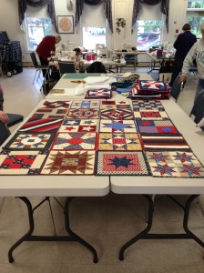A Veteran's Quilt being planned