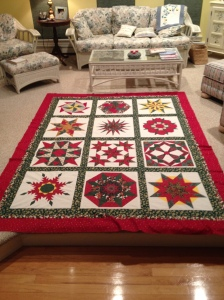 Christmas Stars - one border too small