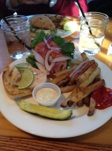 Blackened Haddock Sandwich Special