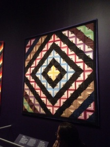 This quilt is made of silk!