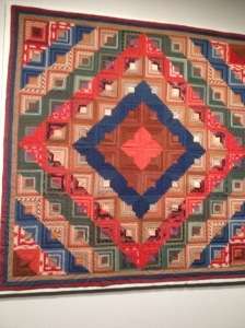 A variation of the Log Cabin Quilt