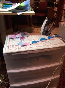 portable ironing station