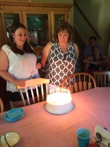 Nadine turned 50